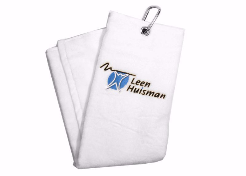 Golftowel with branded